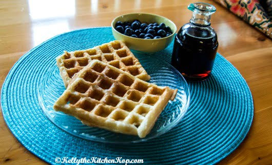 Healthy pancakes and waffles recipe