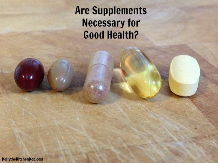supplements necessary