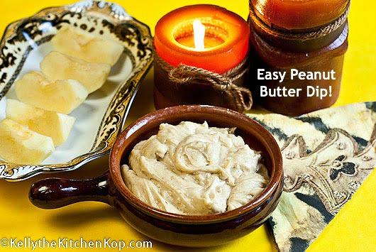 Easy Peanut butter dip