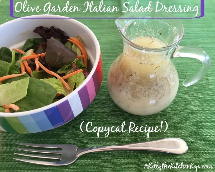 olive garden italian salad dressing copycat recipe kelly the kitchen kop - Olive Garden Italian Dressing