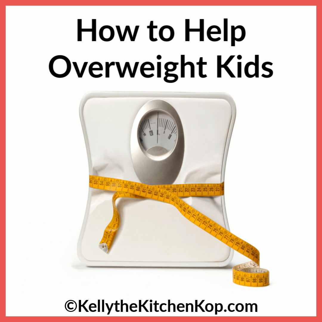ways to help overweight kids
