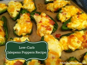 Low-carb Jalapeno Poppers Recipe
