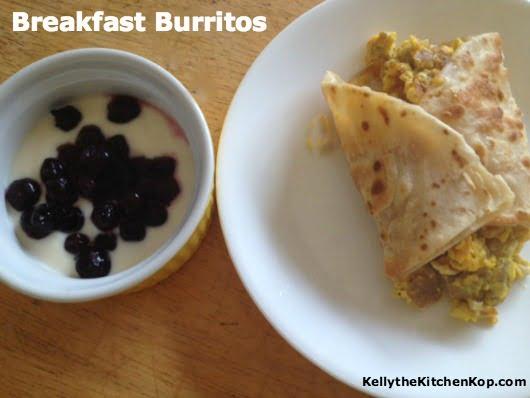 Breakfast burritos 2