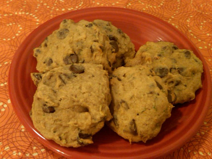 Healthy Dessert? Zucchini Chocolate Chip Cookies