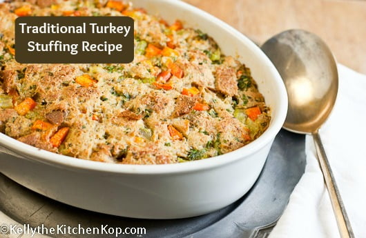 turkey stuffing recipe traditional