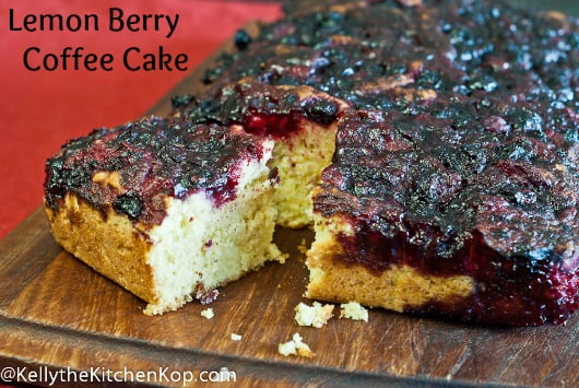 Lemon Berry Coffee Cake