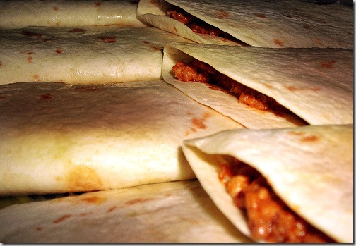 Grassfed Beef Burritos