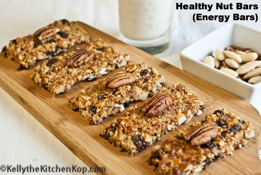 Healthy nut bar recipe for Food52 bar nuts
