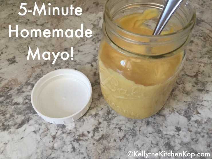 5-Minute Homemade Mayonnaise Recipe