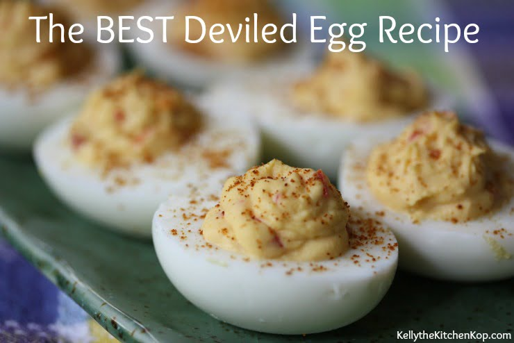 Deviled eggs - Best Basic Deviled Eggs Recipe — Pinch My Salt