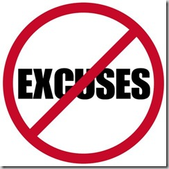 Excuses For Not Eating Well