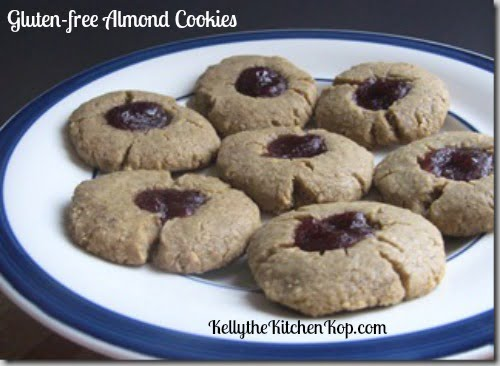Gluten-Free Almond Cookies Made with Arrowroot Flour