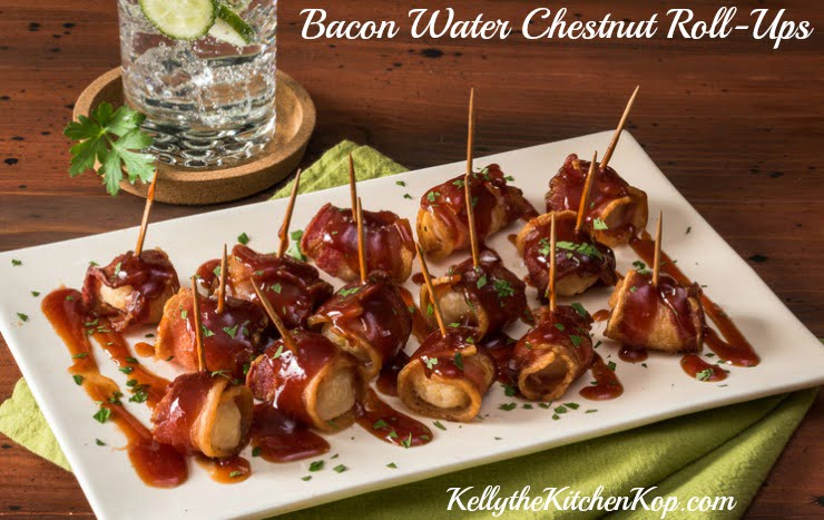 Bacon Water Chestnut Roll-Ups