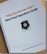 Real Food Ingredient Guide