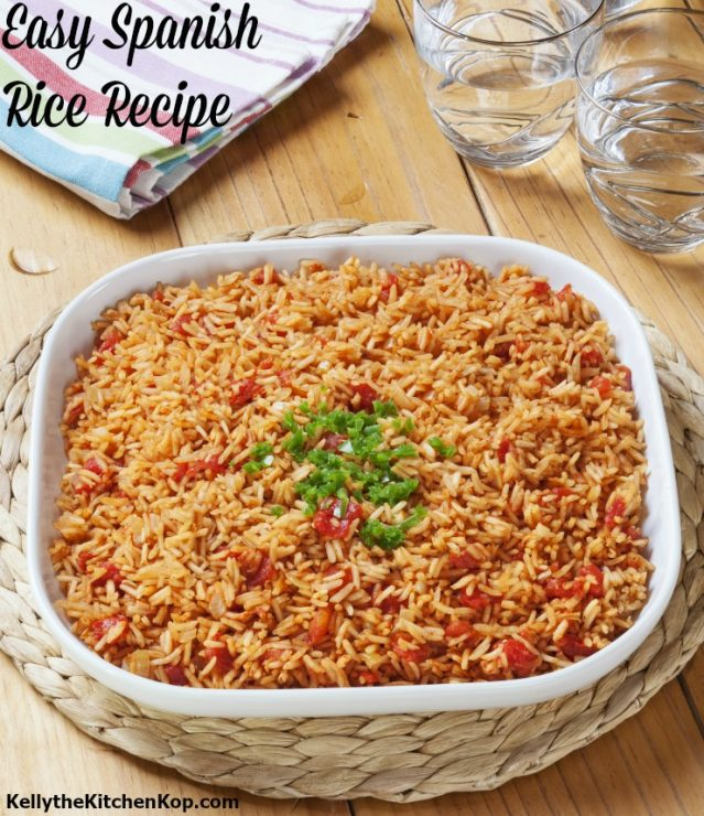 Spanish Rice Recipe Easy