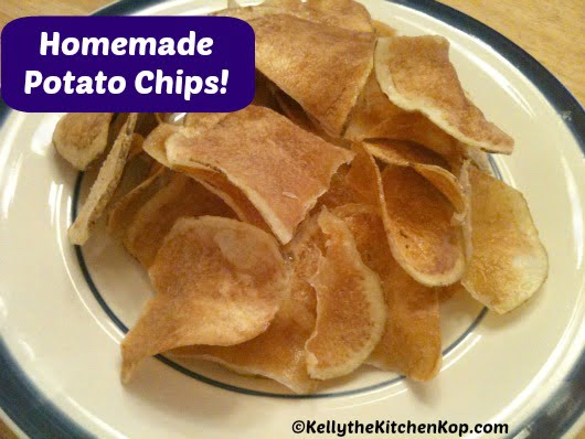 How to make Homemade potato chips
