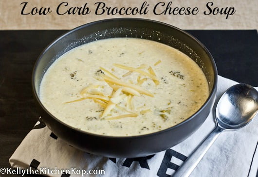Low Carb Broccoli Cheese Soup Recipe
