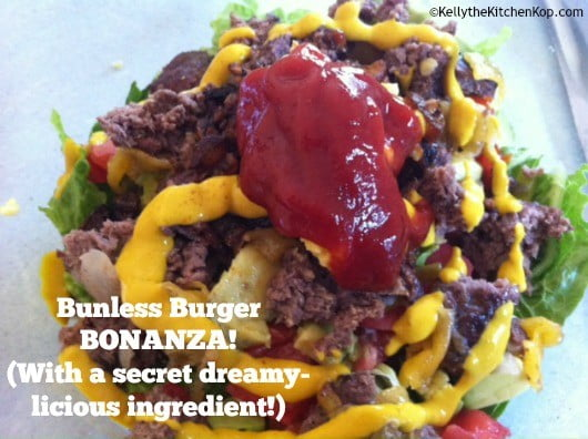 bunless burger ideas