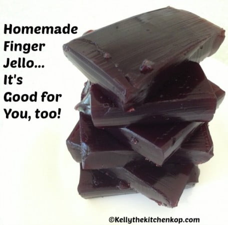 homemade finger jello