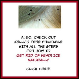 Get rid of head lice naturally