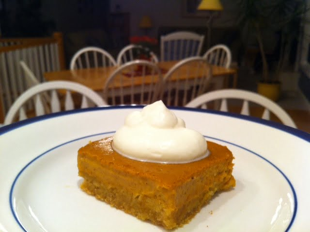 Grain free pumpkin cream cheese bars2