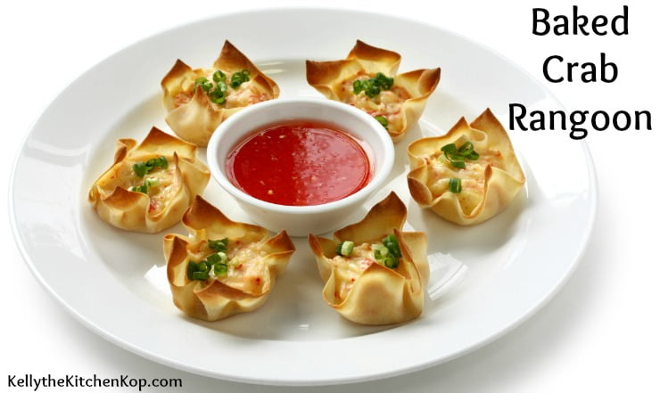 Baked Crab Rangoon Appetizer Recipe (Also See the Crab-Free Version ...