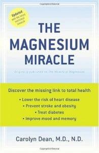 Magnesium spray stings