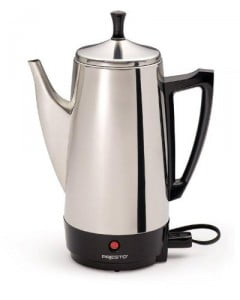 stainless steel coffeemaker