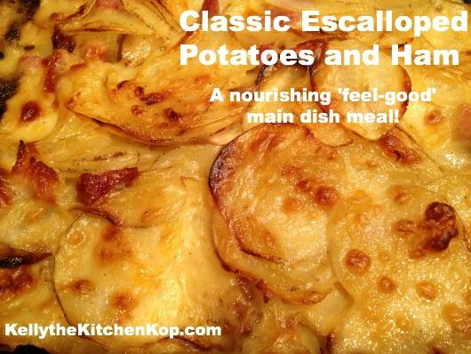 Classic Escalloped Potatoes and Ham