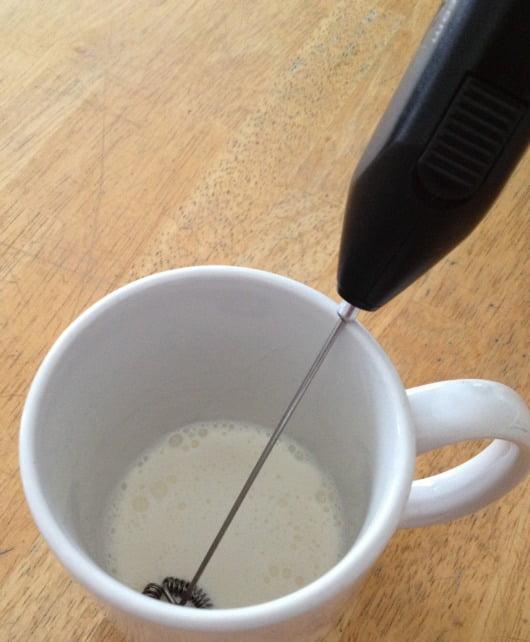 Coffee cream frother