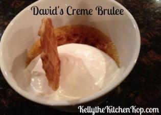 David's creme brulee