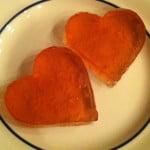 Valentine jello