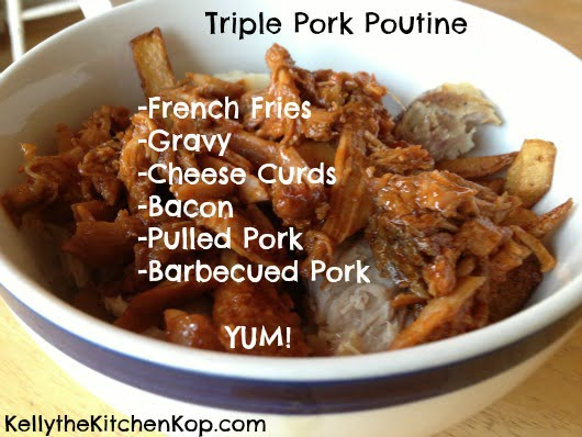 Poutines Triple Pork