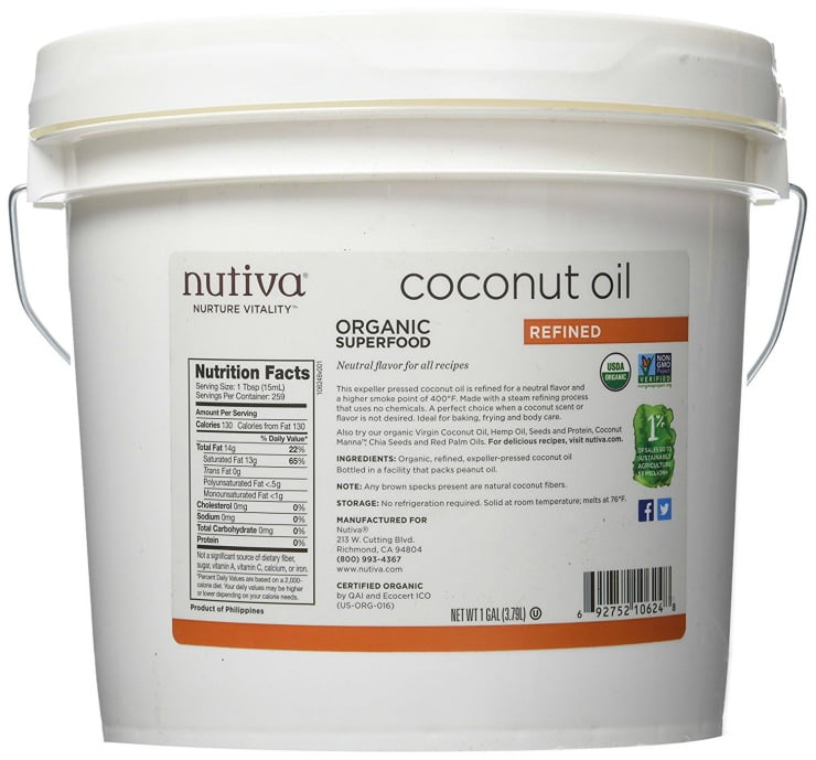 Coconut Oil with No Taste or Smell