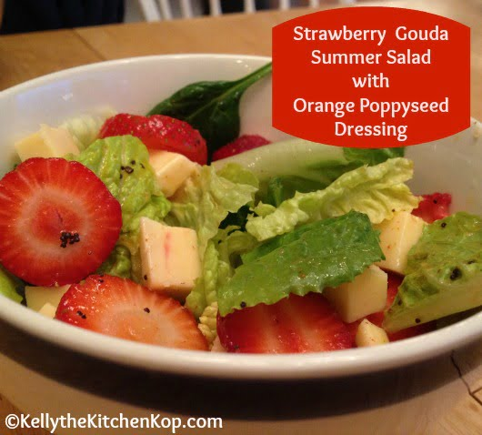 Strawberry Gouda Salad