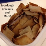 Sourdough crackers and more