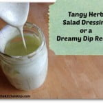 Tangy Herb Dressing or Dip