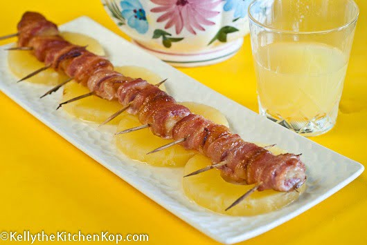 Finger food recipes bacon pineapple rollups finger food recipes forumfinder Image collections