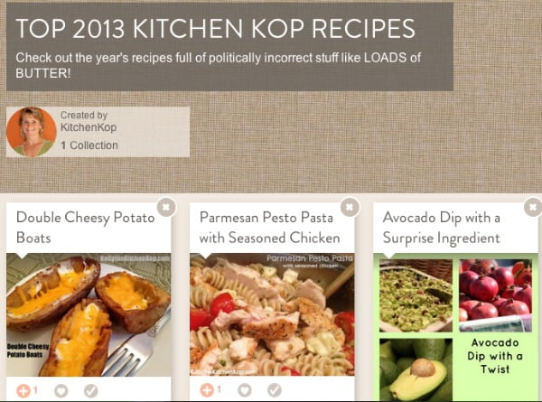 2013 Kitchen Kop recipes