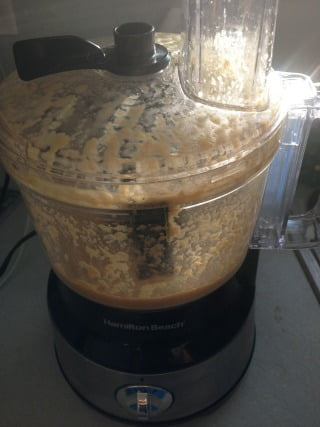 Asian ginger dressing food processor