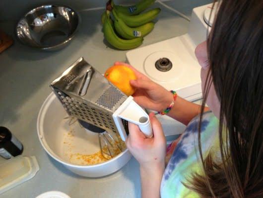 Cranberry orange muffins helper