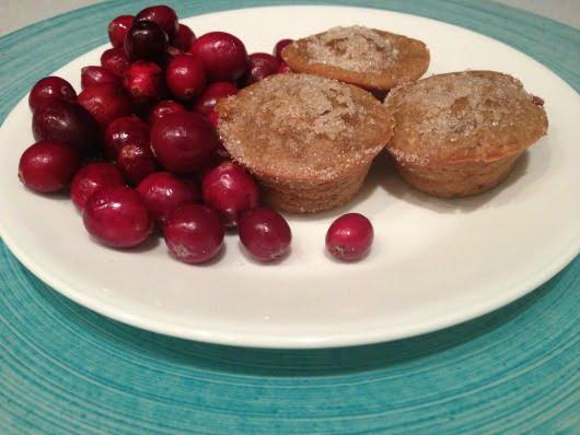 cranberry orange muffins minis