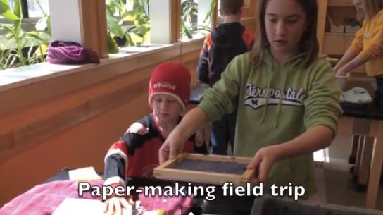 paper making field trip