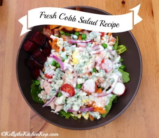 Healthy fast food at home quick dinner ideas kelly the kitchen kop cobb salad recipe 2 forumfinder Choice Image