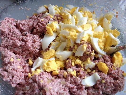 Bologna Mix Recipe with egg
