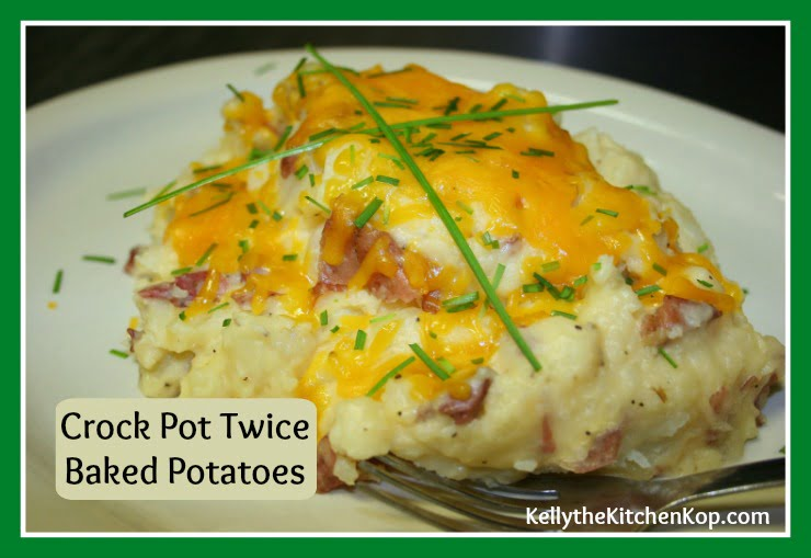 Crock Pot Twice Baked Potatoes Recipe