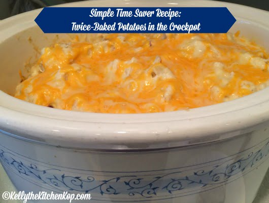 crock pot twiced baked potatoes recipe