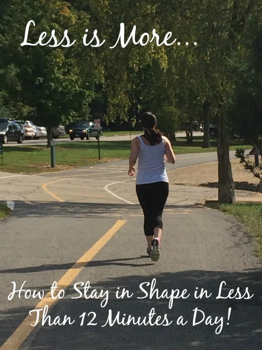 how to stay in shape 2