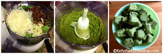 How to Freeze Fresh Basil Pesto