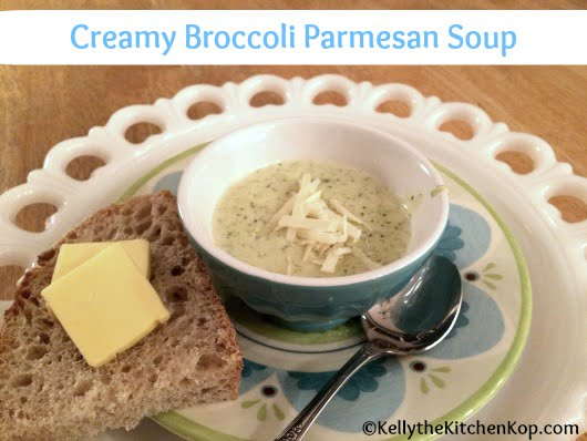 healthy broccoli soup recipe